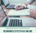 Nueva Capacitación: Reuniones efectivas online